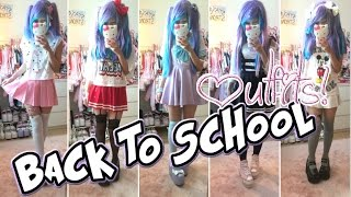getlinkyoutube.com-Back to school 2015 outfit ideas! (different/kawaii outfits) - gymnasiet (skolan)