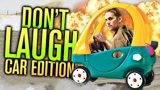 TRY NOT TO LAUGH CHALLENGE - CAR EDITION