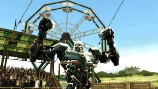 getlinkyoutube.com-Real Steel WRB Versus Mode Anubis Series of Fights NEW ROBOT UPDATE (Живая Сталь)