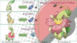 getlinkyoutube.com-Pokémon - Mega Evoluciones Segunda Generación (FANART y OFICIALES)