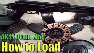 getlinkyoutube.com-How to: Loading AK47 Drum Magazines