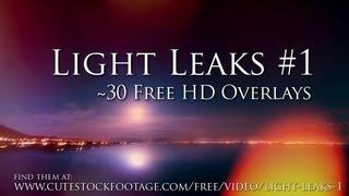 getlinkyoutube.com-Light Leaks #1 - Free HD video overlays