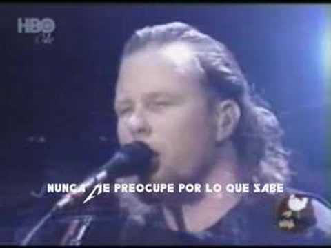 Nothing Else Matters - MetallicA (subtitulado)