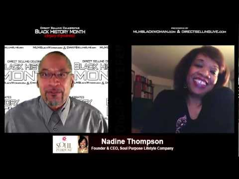 Nadine Thompson, Founder & CEO Soul Purpose Lifestyle Company Interview For Black History Month