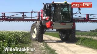 Agrifac Condor WideTrackPlus - Wider track widths for greater yields
