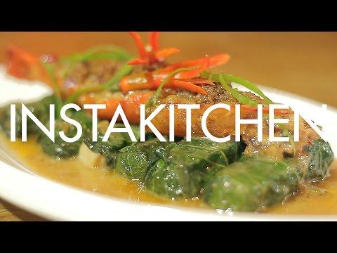 Instakitchen Manila E8: Sinanglay (with recipe) at Chef Tatung's