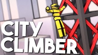 getlinkyoutube.com-THROWING TEST DUMMY'S OFF BUILDINGS - Let's Play City Climber Gameplay