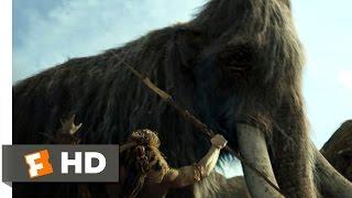 getlinkyoutube.com-10,000 BC (1/10) Movie CLIP - The Mammoth Hunt (2008) HD