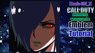 Infinite Warfare Emblem - Touka Kirishima (Tokyo Ghoul) COD Darkelf X