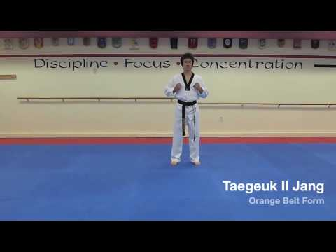 Taegeuk Il Jang - Orange Belt Form