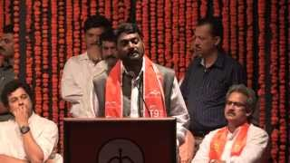 getlinkyoutube.com-Shivsena Vardhapan Din:  Shri. Nitin Bangude Patil Speech At Rangsharda  Bandra, 19 June 2014