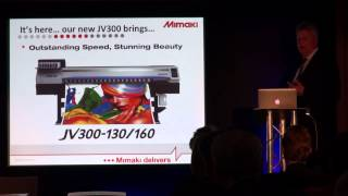 Mimaki - Press Conference from Fespa Digital 2014 4/4