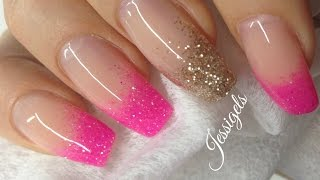 ♡ How to: Intensify See-through glitter With Gel