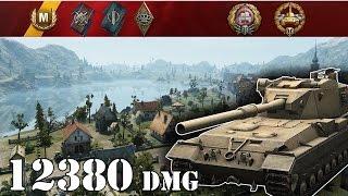 getlinkyoutube.com-World of Tanks / FV215b (183) .. 12380 Dmg
