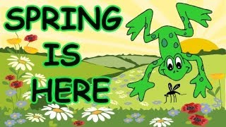 getlinkyoutube.com-Spring Songs for Children - Spring is Here with Lyrics - Kids Songs by The Learning Station