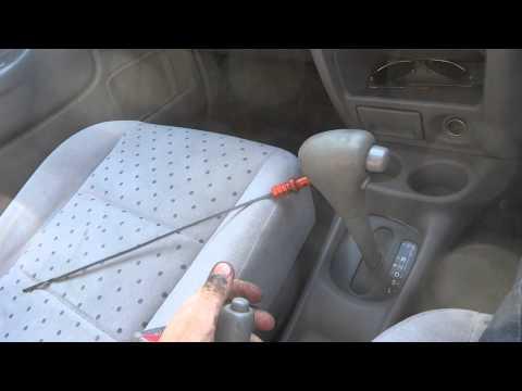Как правильно измерить уровень масла в АКПП на Mazda Demio (Ford Festiva Mini Wagon)