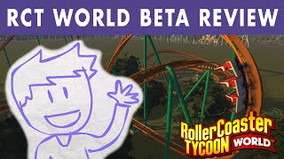 getlinkyoutube.com-RollerCoaster Tycoon World Beta: Thoughts & Review - KevCast