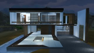 getlinkyoutube.com-The Sims 4 Modern House (Casa Moderna ITA) #1