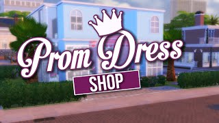 getlinkyoutube.com-The Sims 4 Speed Build / Prom Dress Shop