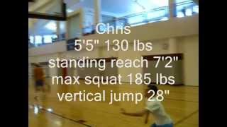 getlinkyoutube.com-how to dunk. jump training 6 inch gain