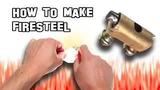 getlinkyoutube.com-✔ How To Make a Firesteel
