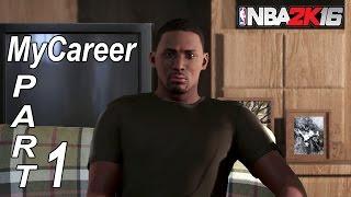 NBA 2K16 MyCareer Walkthrough Gameplay Part 1 - Living The Dream