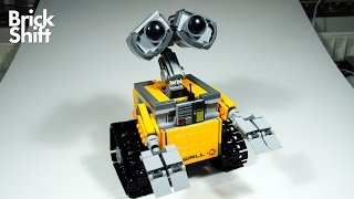 getlinkyoutube.com-Lego Wall-E 21303 - Stop Motion Build