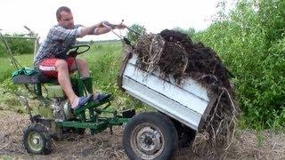 getlinkyoutube.com-Перевозка компоста на огород