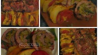 getlinkyoutube.com-Reteta - Rulada de porc - Pork roulade recipe