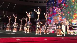 getlinkyoutube.com-Cheer Athletic Panthers 2015 ( Spirit Celebration Christmas Classic ) Day 2