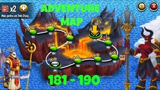 getlinkyoutube.com-Monster legends - lvl 181 - 190 - Adventure Map