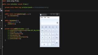 [Java Development] Creating a Calculator #1