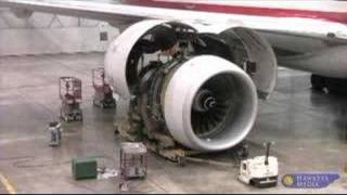 Boeing 777 #2 Engine Change