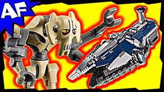 getlinkyoutube.com-General Grievous MALEVOLENCE 9515 Lego Star Wars Animated Building Review