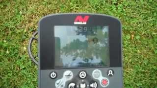 Minelab CTX3030 looking for good targets in iron.