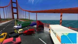 getlinkyoutube.com-Midtown Madness 2 - B2N auf der Golden Gate Bridge