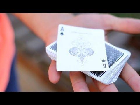 خدع الورق - حركة تغيير الورقة و قلبها