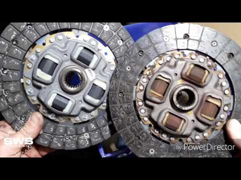 Замена сцепления Toyota Corolla, Auris (сравнение к-ктов AISIN и Toyota)