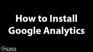 getlinkyoutube.com-How to Install Google Analytics on Wordpress