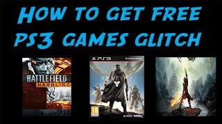 getlinkyoutube.com-How to get FREE games on PS3 Glitch NO JAILBREAK