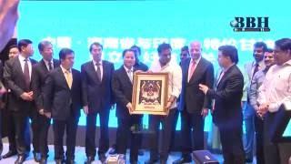 KTR Meeting With China Hunan Province Governor ,Apollo Hospitals, Tsiic, T-HUB