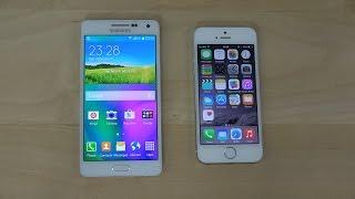 getlinkyoutube.com-Samsung Galaxy A5 vs. iPhone 5S - Review (4K)