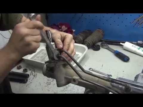 Ремонт рулевой рейки на Hummer H3. Ремонт рулевой рейки на Hummer H3 в СПб.
