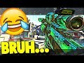THE WORST TRICKSHOTTER EVER...LMAO 😂Call of Duty Sniping & Funny Moments