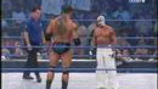 getlinkyoutube.com-Rey Mysterio Vs. Batista