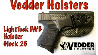 getlinkyoutube.com-Vedder Holsters LightTuck IWB Holster for Glock 26