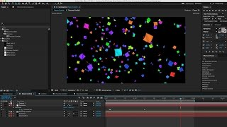getlinkyoutube.com-After Effects Tutorial 09: Animating Confetti w/ Trapcode Particular