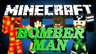 getlinkyoutube.com-Minecraft Bomber Man Minigame w/ CaveManFilms, TBNRFrags, and AshleyMarieeGaming