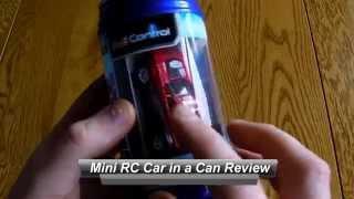 getlinkyoutube.com-Revell Control Mini RC Can Car Review