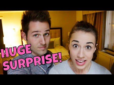HUGE SURPRISE!!!  AAAAAH!!! - Vlogmas 1
